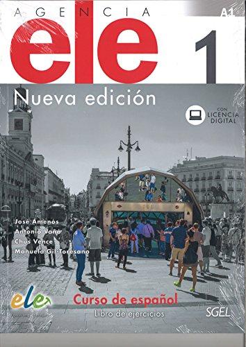 Agencia ELE 1. Nueva edición. Libro de ejercicios por José Amenós Pons