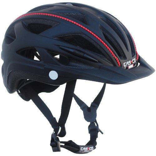 Casco Fahrradhelm Active-TC Radhelm Helm Bike Cityhelm aktuelles Modell, Farbe: Black, Größe: L/XL (57-61cm)