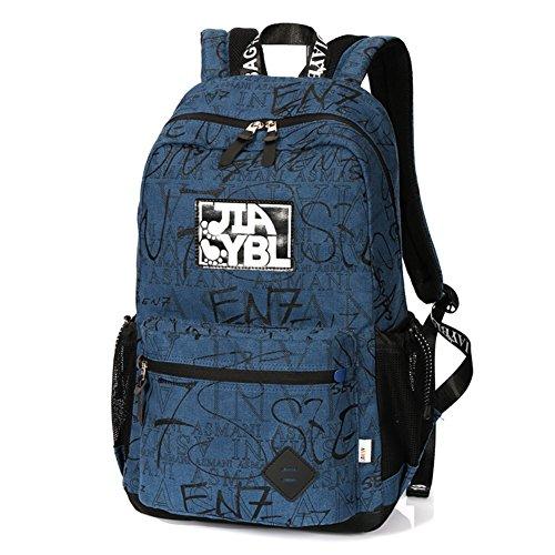 Grande capacit¨¤ di luce borsa a tracolla, sacchetto femminile casuale di modo della scuola-A A