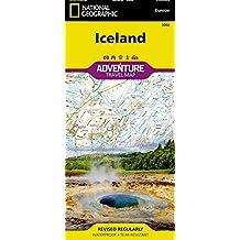 Iceland: Travel Maps International Adventure Map