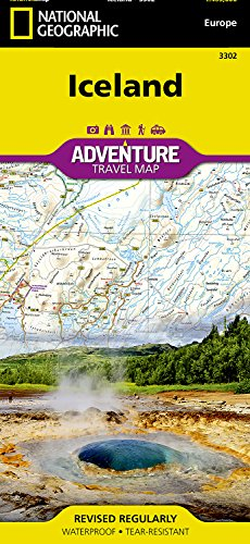National Geographic Adventure Map Iceland