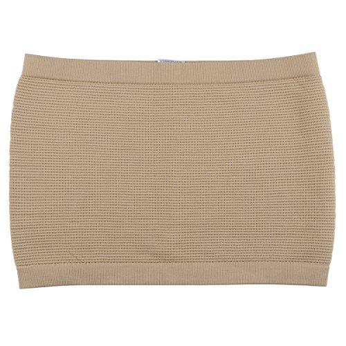 LUOEM Herren Taille Trimmer Gürtel Komfortable Elastic Strong Unterbauch Unterstützt Shaper Hot Bodyshaper Größe L (Hautfarbe)