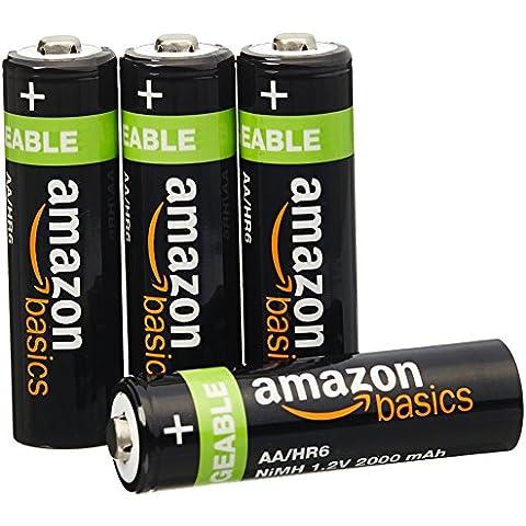 AmazonBasics - Pilas recargables NiMH