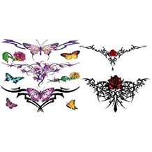 Lower Back Temporary Tattoos by Kaz Creations