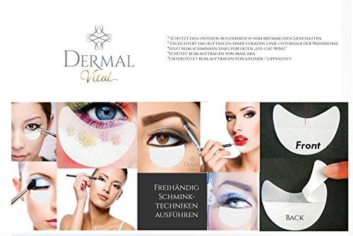 Shadow Shields Abdeckungen für Augen und Lippen Helfer beim Lidschatten Makeup eye make up (30x Stück) Dermal Vital® - 2