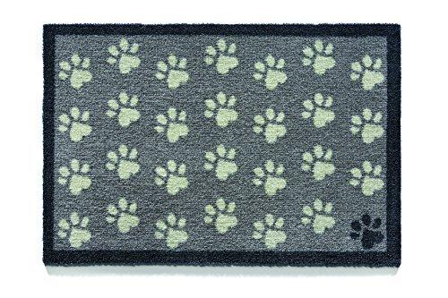 Howler & Scratch Pet Mat 50X75cm Design Small Paws1 by Howler & Scratch