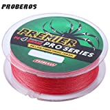 #5: Zorbes PROBEROS 100M Durable Colorful PE 4 Strands Monofilament Braided Fishing Line Angling Accessory