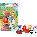 Ty Iwako Eraserz Forest Animals Set - Style and Colors vary