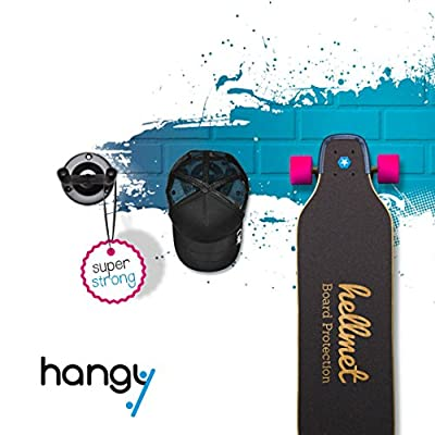 Longboard and Skateboard Wall Holder - fits for all boards - Rack Stand Hanger Mount Shelf
