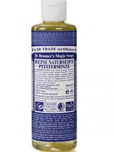Dr. Bronner\'s Naturseife - Flüssigseife - Pfefferminze 240 ml