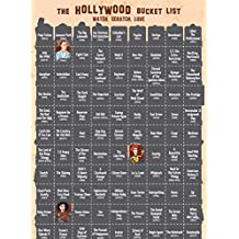 Hollywood Scratch-Off Poster (Screenprint by Fully Filmy)