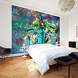 murando - Fototapete 300x210 cm - Vlies Tapete - Moderne Wanddeko - Design Tapete - Wandtapete - Wand Dekoration - Graffiti 10110905-2