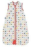 Grobag - Saco de dormir para bebé (100% algodón, 1,0 tog de verano), diseño de flechas multicolor Talla:18-36 meses