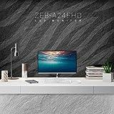 Zebronics 23.8inch (60.4cm) LED Monitor (White)