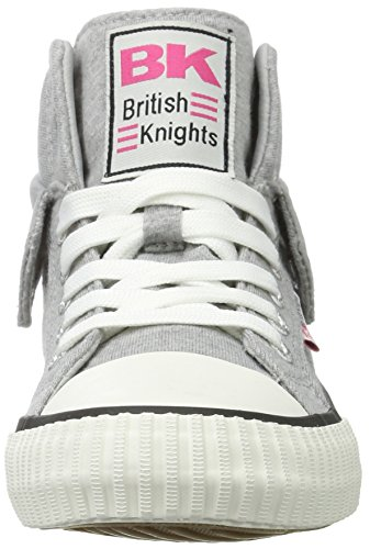 British Knights ROCO BK women trainer Sneaker B39-3727-06 grey Grey/Fuchsia