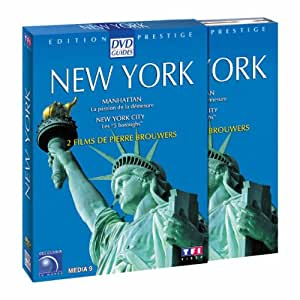 "Coffret Prestige New York - Manhattan, la passion de la démesure + New York City, les ""5 boroughs"" [Édition Prestige]"