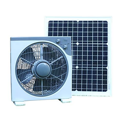 Kit de ventilación solar con ventilador de 12V CC y panel solar de 20W. Perfecto para acampar, carpa, caravana, autocaravana, autocaravana, automóvil, bote, invernadero, caseta de jardín, garaje.    Utilice el panel solar a prueba de intemperie de...