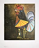 Pablo Picasso Der Hahn Poster Kunstdruck Bild 90x70cm - Germanposters