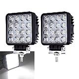 2X 48W LED Arbeitsscheinwerfer 12V 24V Scheinwerfer...