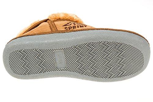 gibra, Pantofole donna 42 Beige