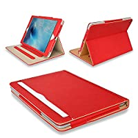 MOFRED® Red & Tan Apple iPad Pro 12.9