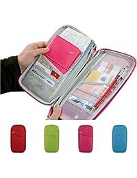 Allmart Enterprise Travel Passport Holder Wallet Case Pouch Organizer (Assorted Colors)