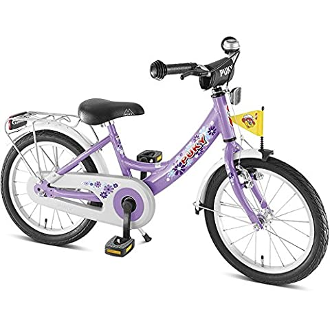 Puky Kinder Fahrrad ZL Alu, Lilac, 18, 4324