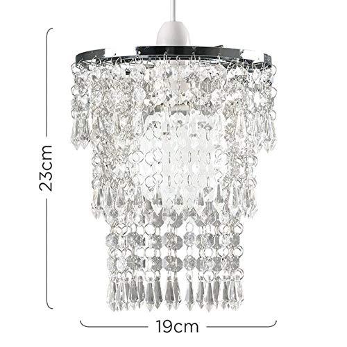 Moderne LED-Kristallleuchter Lichter Glanz Lampe Deckenleuchten für Wohnzimmer Cristal Luster Kronleuchter Beleuchtung Anhänger, Silber -