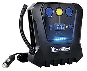 Michelin 009519 compresseur digital 12 v auto - Gonfleur electrique pneu 12v 220v ...