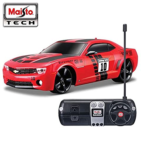 Maisto Car Vehicle R/C Remote Control 1:24 Scale Chevrolet Camaro