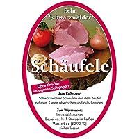 Schwarzwälder Schäufele im Kochbeutel (1,5 kg) – Ohne Knochen, im eigenen Saft gegart – muss nur noch im Kochbeutel erwärmt werden - ohne Kühlung haltbar - Ideal als Geschenk