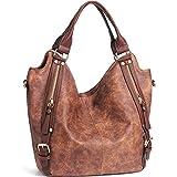 iYaffa Handtaschen Damen Taschen Schultertaschen Umhängetaschen Handtaschen für Frauen PU