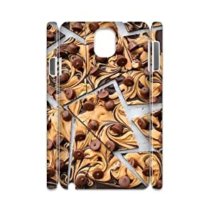 DIY chocolate 3D Case, DIY 3D Durable Case Cover for samsung galaxy note 3 n9000 with chocolate (Pattern-1)