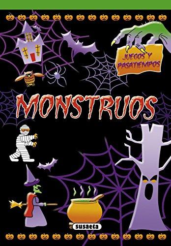 Monstruos (Juegos y pasatiempos) por Susaeta Ediciones S A