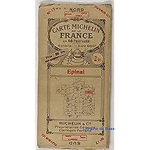 Carte Michelin n°17 - Epinal