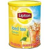 LIPTON ICED Tea Lemon FLAVOURED POUDRE Drink Mix fait 10 QUARTS TUB 751g