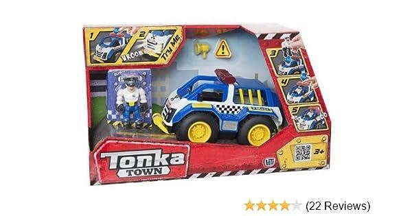 Tonka Town Vehicle /& Figure Lights Sounds Fire Truck Police Bike Ranger Car NEW
