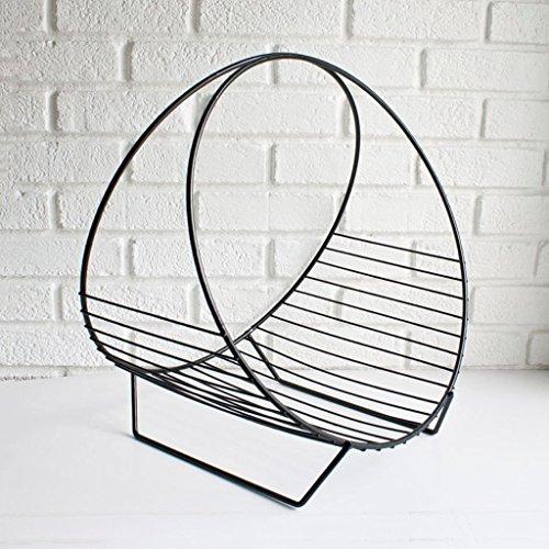 GRY Persönlichkeit Kreative Ecke Büro Einfache Bücherregal Regal Landung Moderne Multifunktions,Schwarz -