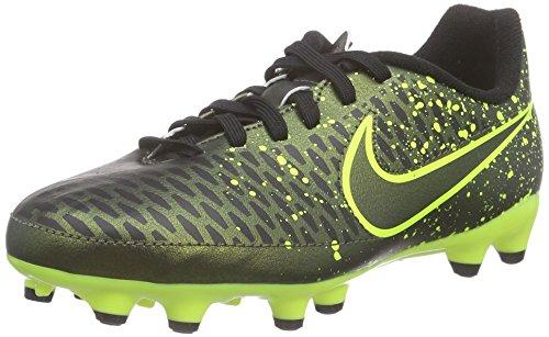 Nike Jungen Magista Onda Fg Fußballschuhe Schwarz (Schwarz/Gelb)
