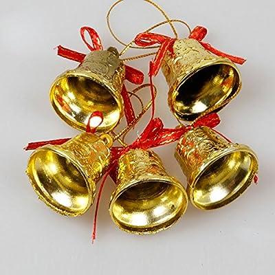 1x BIC Living Weihnachtsdekoration Set Drum Weihnachtskugeln Zuckerstangen Baum Glocke Weihnachten Sparkly von GD Dream Factory auf Du und dein Garten
