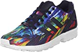 adidas Herren ZX Flux Sneakers, Mehrfarbig (schwarz / gelb / rot / weiß) 36 EU
