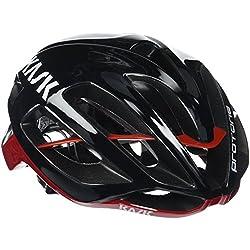 Kask Protone, Многоцелевой велосипедный шлем, черный / красный, M