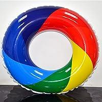 Rainbow Swim Ring - Piscina Hinchable Hinchable Para Adultos, Conservadora De Vida, Fila Kid's Girls 'Boys' Summer Pool