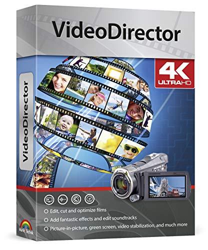 VideoDirector - Videos perfekt bearbeiten, schneiden, optimieren, Effekte hinzufügen für Windows 10, 8.1, 8, 7