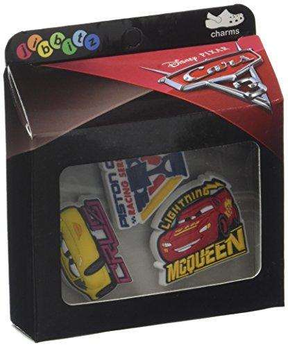 Crocs cars 3 3-pack charm decorativi, multicolore (-), taglia unica