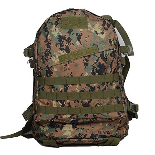 Zaino Militare Sport all' aperto borse zaino da escursionismo e campeggio arrampicata Sacchetti, CP Jungle Digital