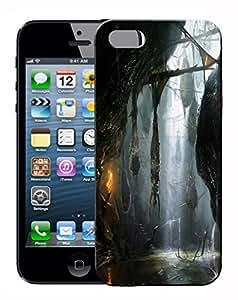 FCS® Printed Designer Hard Back Case For Apple iPhone 5