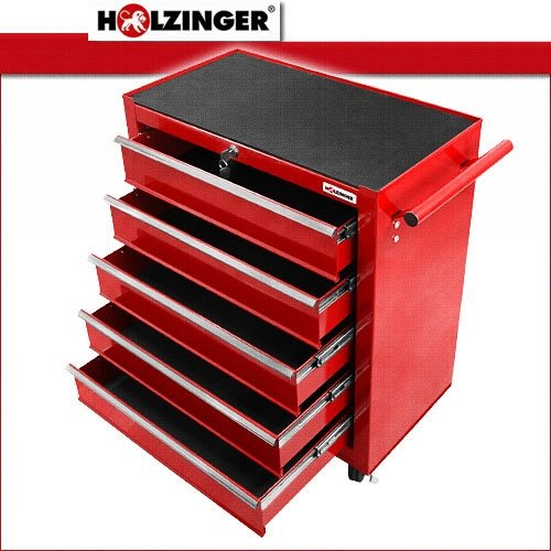 Holzinger Werkzeugwagen HWW1005KG - kugelgelagert (5 Schubfächer) - 2
