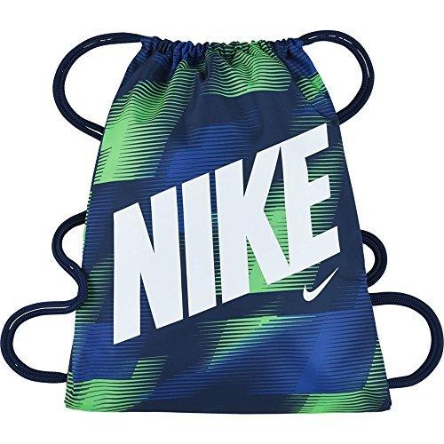 Nike Graphic Gym Sack Junior Sporttasche, Blau, 45,5 x 35,5 cm