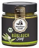 Münchner Kindl Senf Bio Bärlauch Senf, 125 ml